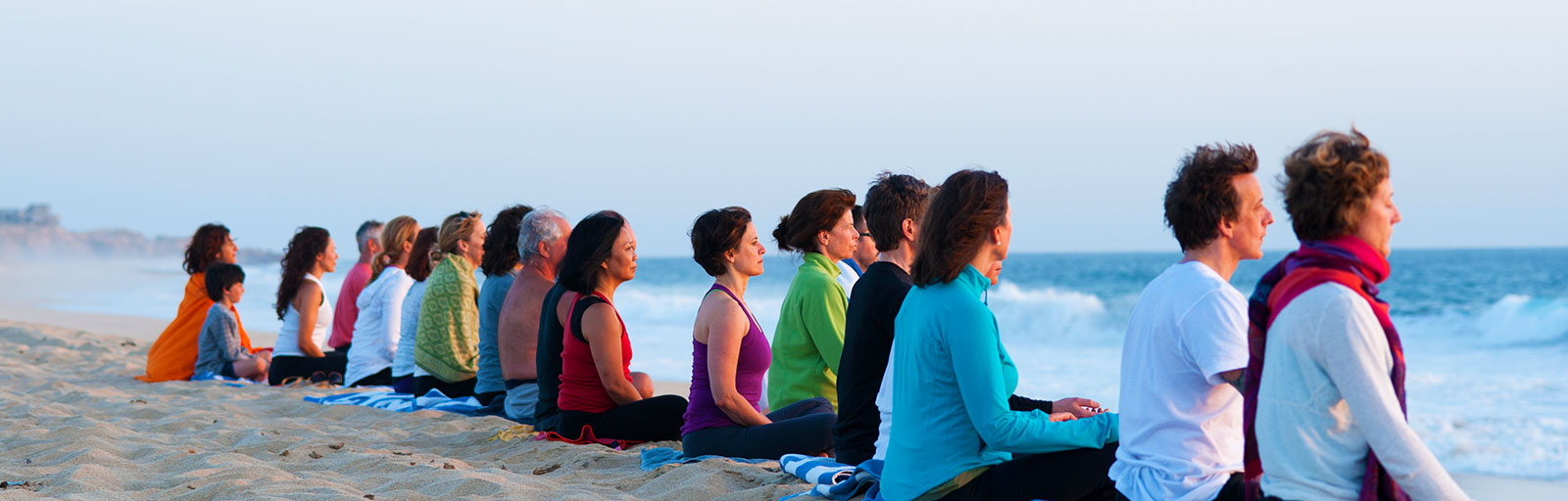 Mexico Yoga Retreats: Meditation at the Beach