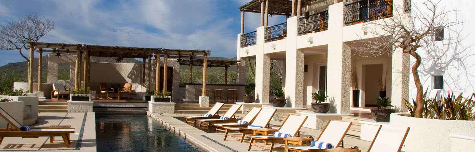 Yoga Retreats in Mexico: Swimming Pool & Community Building