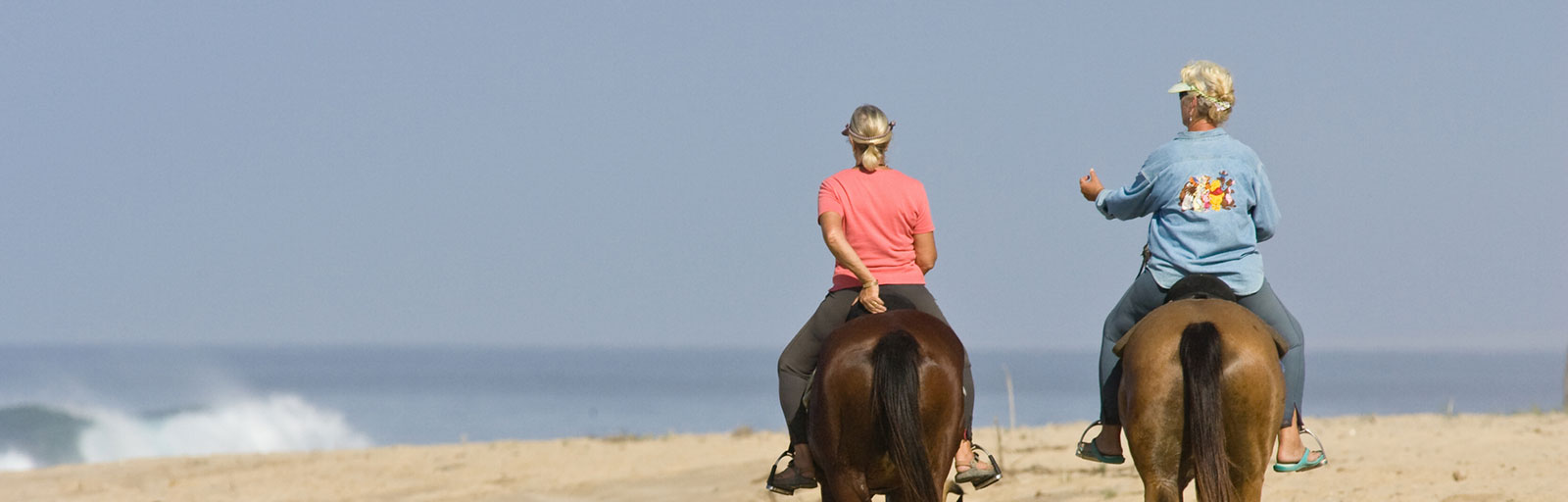 Horseback Riding & Yoga Retreat in Mexico: Beach Ride with Waves