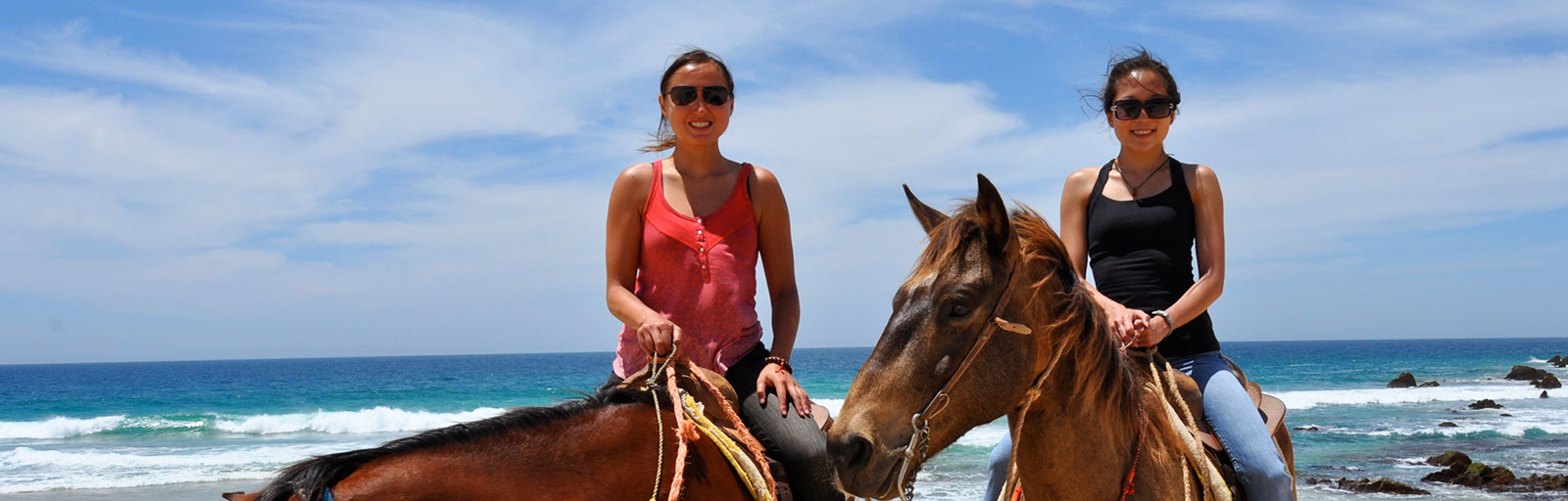 Horseback Riding & Yoga Retreat in Mexico: Friends on a Ride