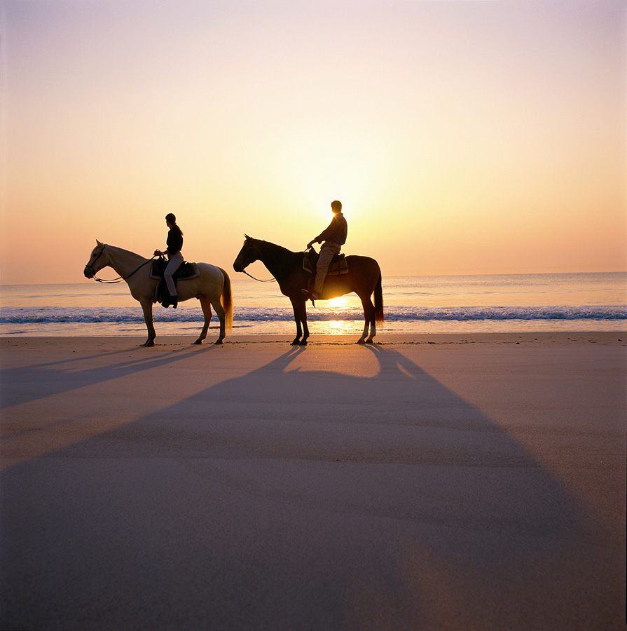 Horseback Riding at Sunset - Yoga Retreat - Mexico