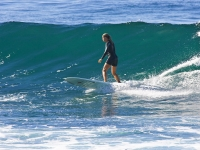 Surfing a Wave in Baja - Yoga Retreat - Mexico