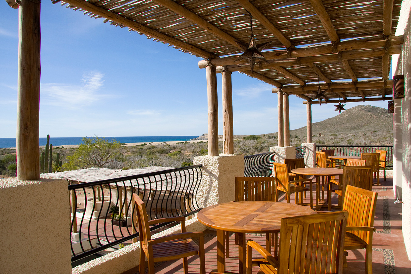 Dining Terrace - Yoga Retreat - Mexico
