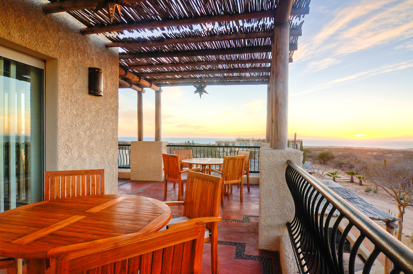 Dining Terrace North - Yoga Retreat - Mexico