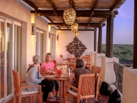 Dining al Fresco - Yoga Retreat - Mexico
