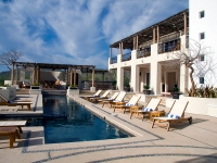 Community Building Pool View - Yoga Retreat - Mexico
