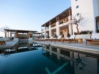Community Building Pool Twilight - Yoga Retreat - Mexico