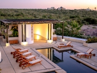 Evening Glow Above the Pool - Yoga Retreat - Mexico