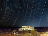 Stars Arc Above the Community Building - Yoga Retreat - Mexico