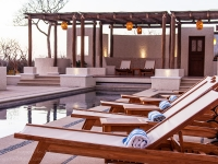 Evening at the Pool - Yoga Retreat - Mexico