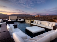 Sunset on the Roof Deck - Yoga Retreat - Mexico