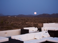 Moonrise from the Roofdeck - Yoga Retreat - Mexico