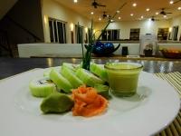 Sushi Rolls - Yoga Retreat - Mexico