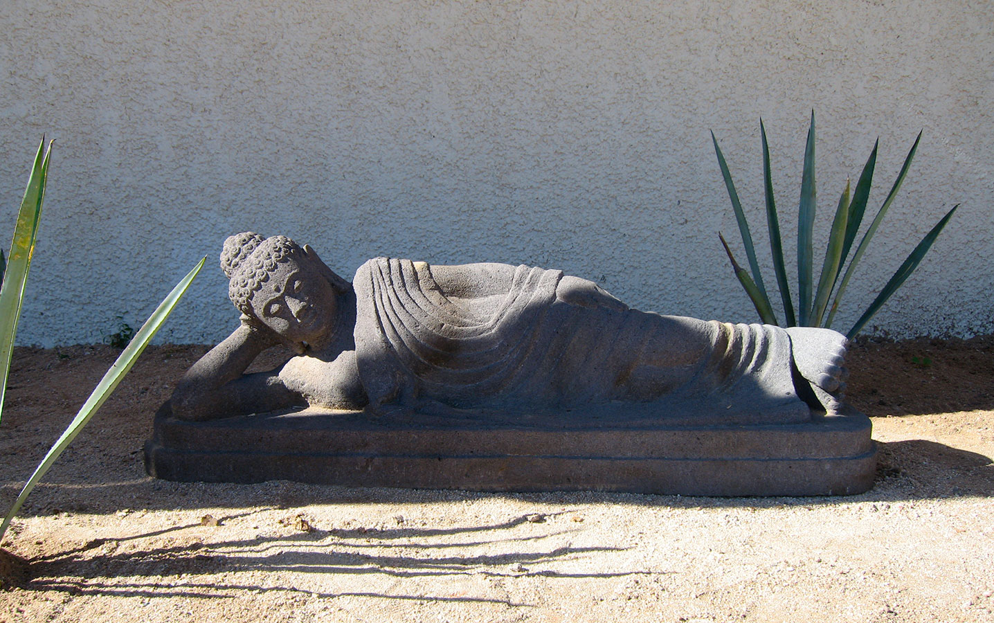 Reclining Buddha Statue - Yoga Retreat - Mexico