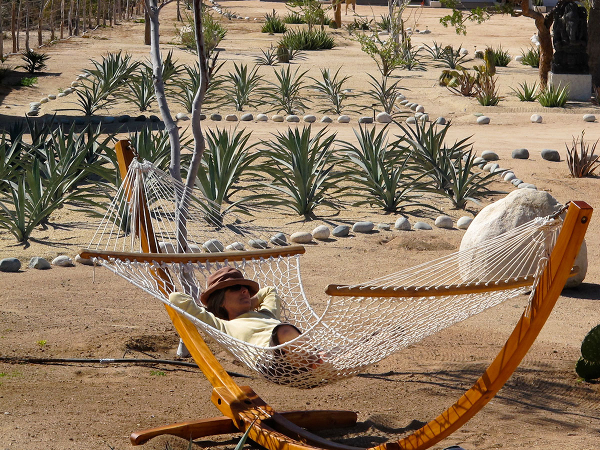 Hammock in the Garden - Yoga Retreat - Mexico