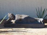 Reclining Buddha Statue - Yoga Retreat - Mexico
