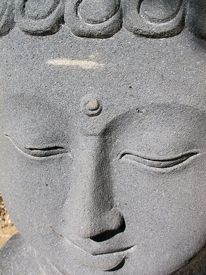 Buddha Face - Yoga Retreat - Mexico