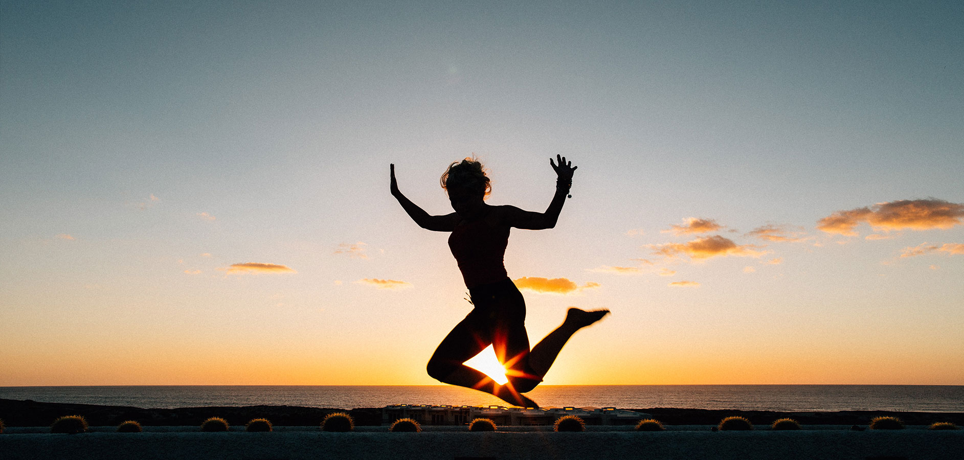 Jumping for Joy - Yoga Retreat - Mexico