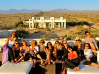 Relaxing on the Roof - Yoga Retreat - Mexico