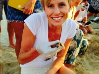 Rescuing Baby Sea Turtles - Yoga Retreat - Mexico