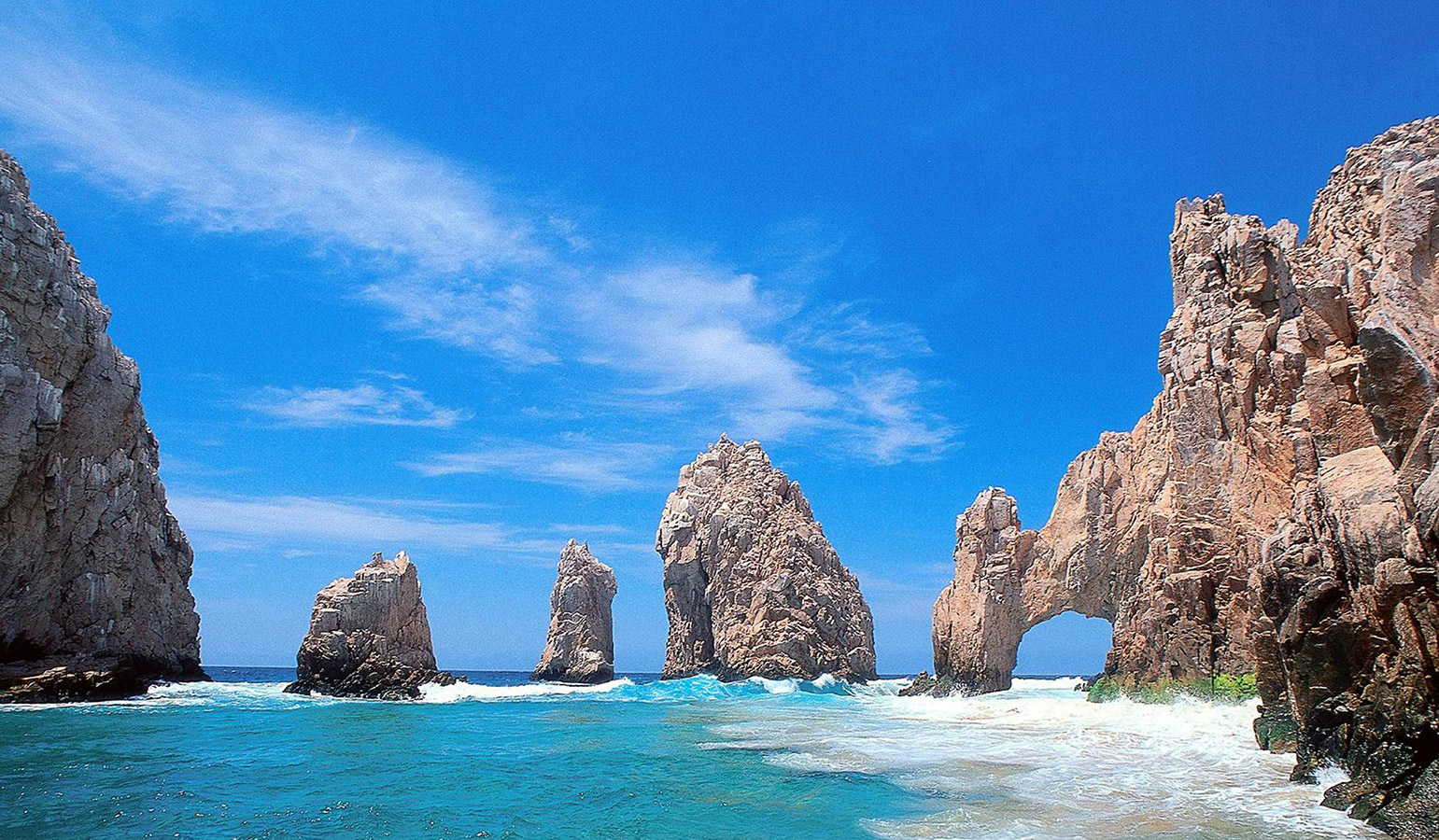 The Famous Cabo Arch at Land's End - Yoga Retreat - Mexico