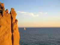 A Sailboat on the Pacific at Land's End - Yoga Retreat - Mexico