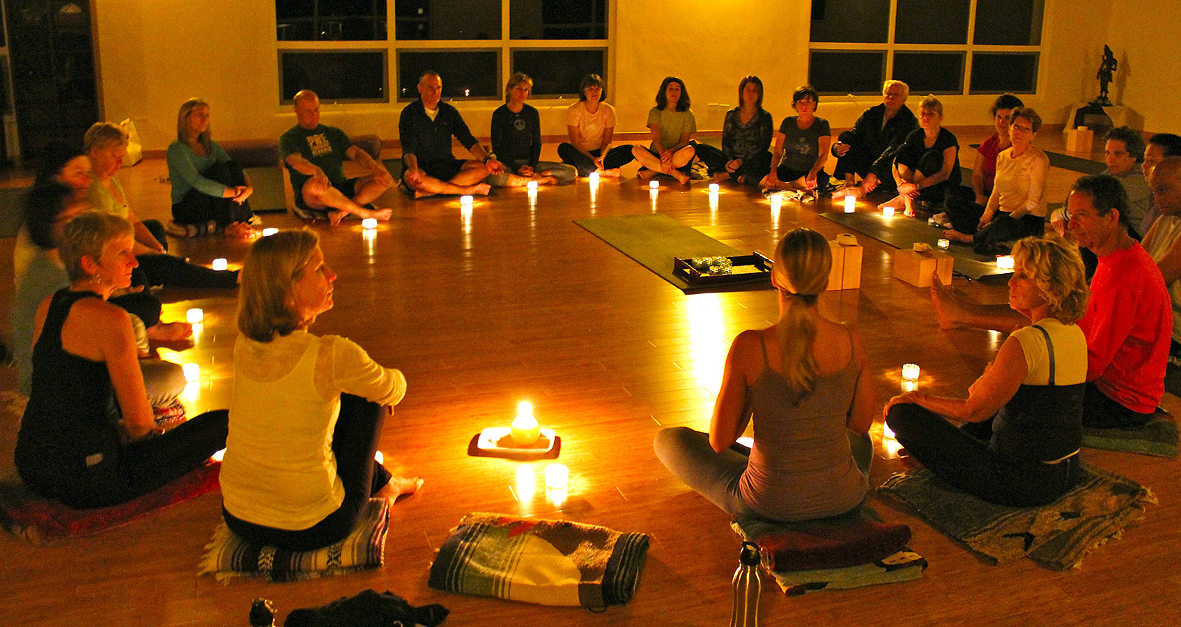 Candlelight Ceremony - Yoga Retreat - Mexico