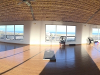 Fisheye View of Sun Studio - Yoga Retreat - Mexico