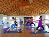 Yoga Class in our Sun Studio - Yoga Retreat - Mexico