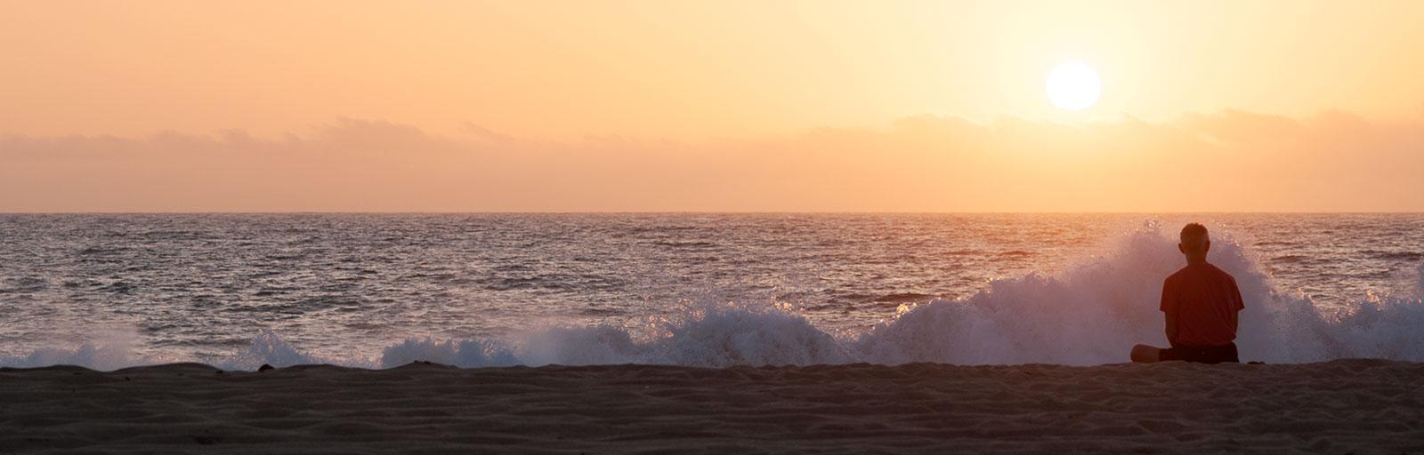 Wellness & Yoga Retreats in Baja, Mexico: Solitary Meditation at the Beach