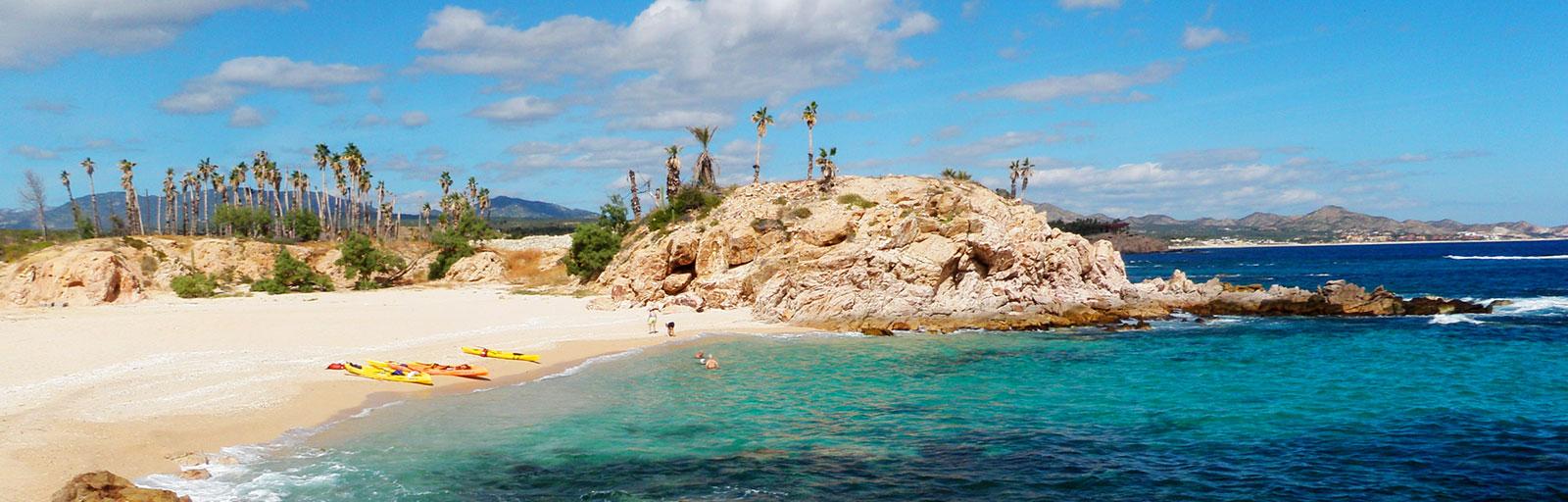 Sea Kayaking & Snorkeling on a Mexico Yoga Retreat: Golden Beach