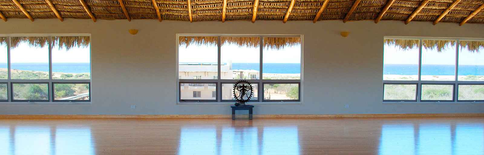 Mexico Yoga Retreat Yoga Studio: Ocean View