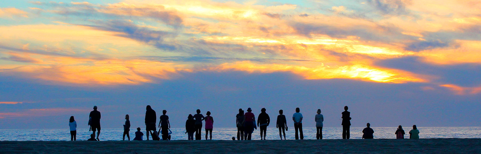 Wellness & Yoga Retreats in Baja, Mexico: Silhouettes at Sunset